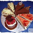 Samples of individual desserts