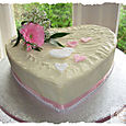 Frosted Ginger Wedding Cake