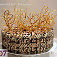 Caramel & Hazelnut Mousse Gateaux