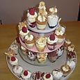 Tower of Dessert Cups