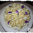 Ivory Chocolate flowers