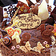 Choclolate Birthday Cake