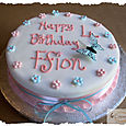 Happy 4th Birthday Cake