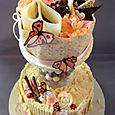 La Creme Jardin du chocolate Wedding cake