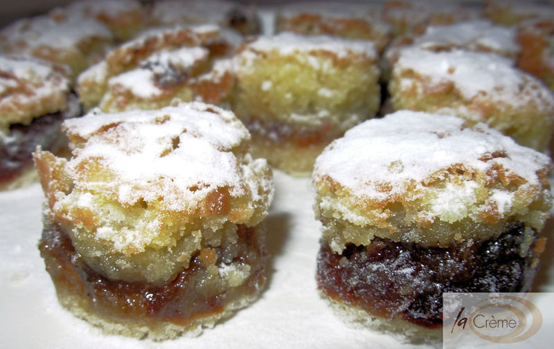 Frangipane Mince Pies CanapesL