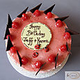 Raspberry Birthday Cake L