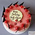 Raspberry Birthday Cake L