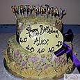 Chocolate Birthday Cake L