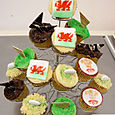 Welsh Cup cakes