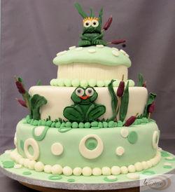 Frog Wedding Cake 2