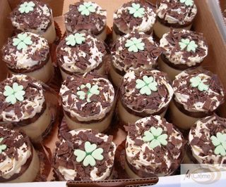 Shamrock Cheesecakes