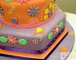 Sanah Mehndi Cake 3