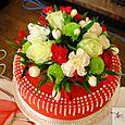 Red Wedding Cake Topper