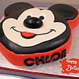 Mickey Mousse Birthday Cake