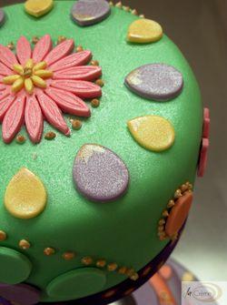 Sanah Mehndi Cake Topper