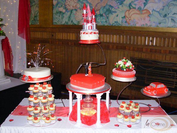 Asian Wedding Cakes At The Brangwyn Hall In Swansea La