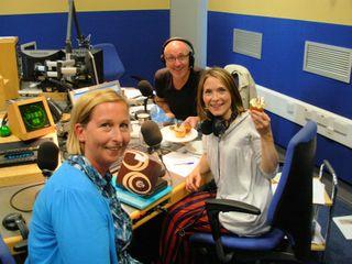 Mal,Lisa & Sian on Radio Wales