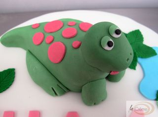 Dinosaur Birthday model