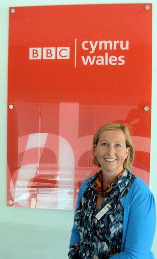 Sian at BBC Wales Sept 09
