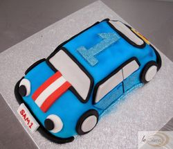 Racing Car 1st Birthday Cake