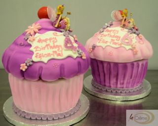 Large Cup Cake Birthday cakes