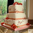Alun & Anna's 3 tier Wedding Cake