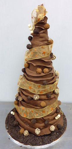 Wrapped Chocolate Cone