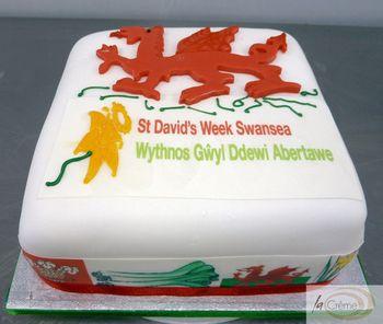 Get Welsh in Swansea Cake