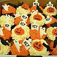 Hallowen Cup Cakes