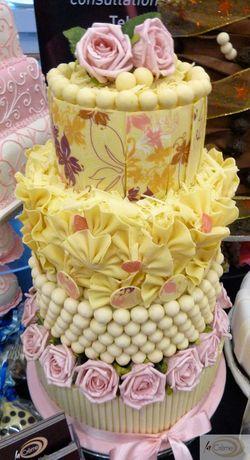 La Creme Chocolate Wedding Cake Styles
