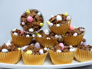Easter Cornflake Cakes