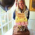 Frankie's 21st Birthday Cake