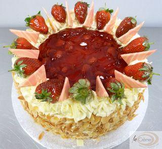 Strawberry Gateau