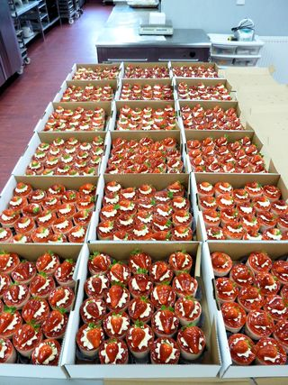 Strawberry Bavois for the Scarlets