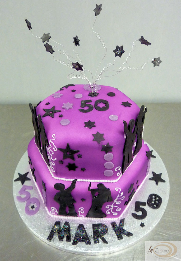 50th Birthday Cakes La Creme Patisserie Blog