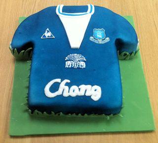 Everton Birthday Cake