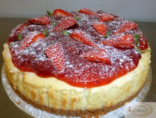 Strawberry Baked Cheesecake s