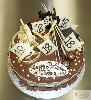 La Creme 18th Birthday Cake