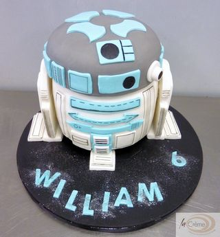 R2D2 Birthday Cake S