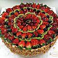 La Creme Fresh Fruit Gateau 2S