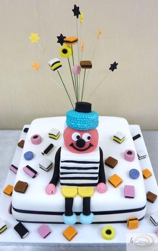 Bertie Basset and his allsorts Birthday Cake S