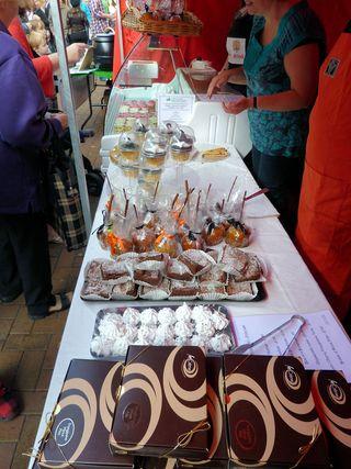 La Creme at the Neath food festival 2010 (2)s