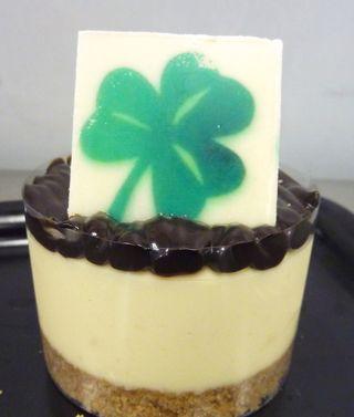 Irish Cream Cheesecakes