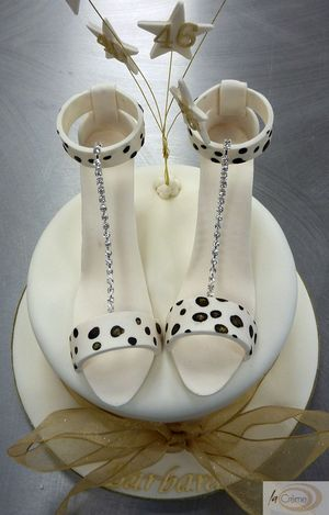 Designer Shoes 46th Birthday Cake s
