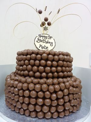 Kates Malteser 18th Birthday Cake