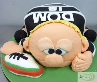 Ospreys Rugby Player 18th Birthday Cake s