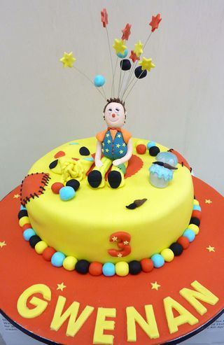 Mr Tumble 3rd Birthday Cake s