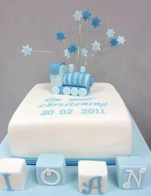 Ioan Christening Cake