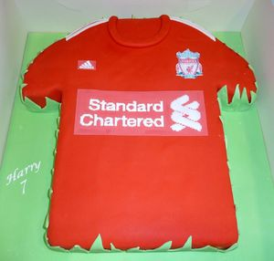 Liverpool Birthday Cake s