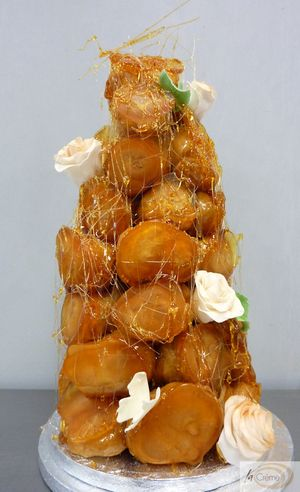 Mini croquembouche wedding sample s